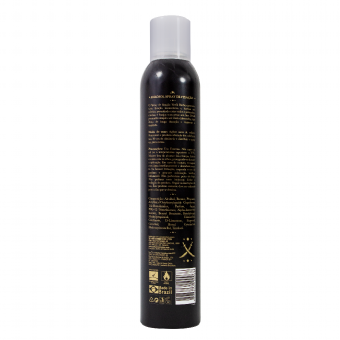 Spray fixador de cabelo gold men luxury on beard 400 ml